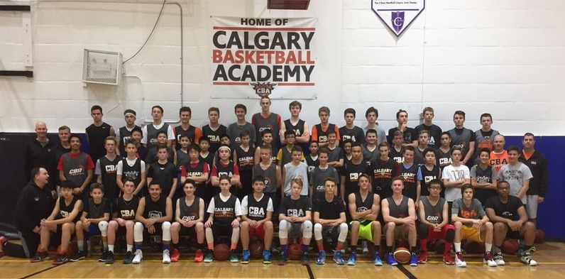 calgary basketball academy : website by ramp interactive