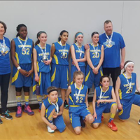 NCBC Thunder U13 Girls: Div A Provincials Silver Medal