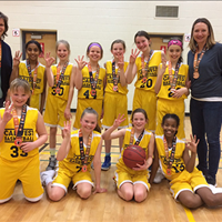 Calwest U11 Girls: Ray Hampton Memorial Silver Medal