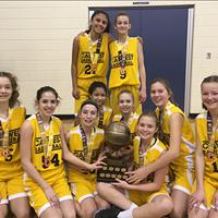 Calwest U13 Girls: Gord Jackson Champions