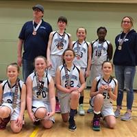Bow River U11 Girls: Ray Hampton Memorial Bronze Medal
