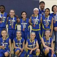 NCBC Thunder U13 Girls: Gord Jackson Silver Medal