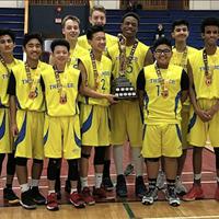 NCBC Thunder U15 Boys: Hornberger Champions