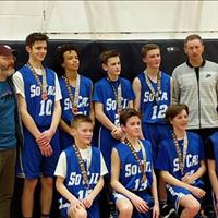 SoCal U15 Boys: Hornberger Silver Medal