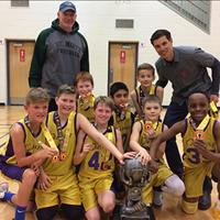 Calwest U11 Boys: Allen Traxel Champions