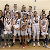 Bow River U13 Girls: Gord Jackson Bronze Medal