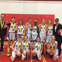 2020 U13G Div 1B - 1st Place - Airdrie