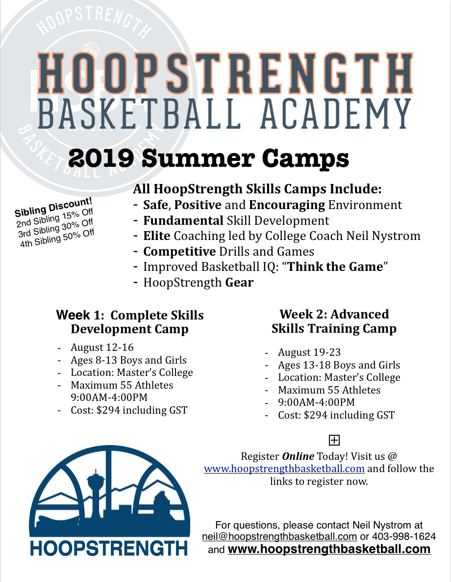 HoopStrength Summer Camp