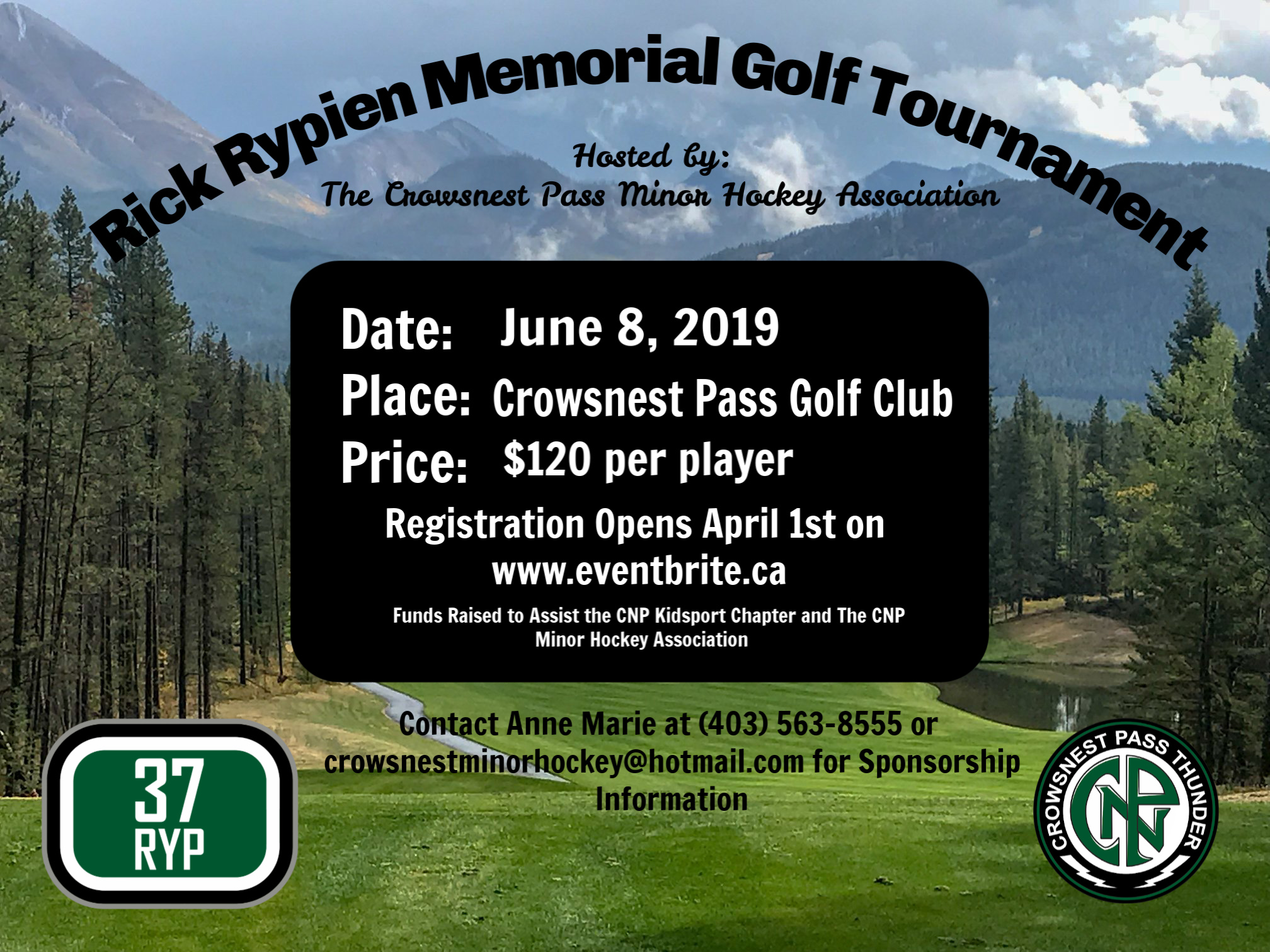 Rick Rypien Memorial Golf Tournament