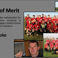 Award of Merit Ivor Cooke