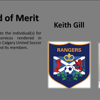 Award of Merit Keith Gill