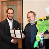 Award of Merit Keith Gill