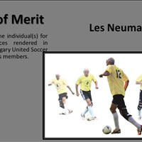 Award of Merit Les Neumann