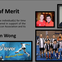 Award of Merit Brian Wong