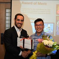 Award of Merit Brian Wong