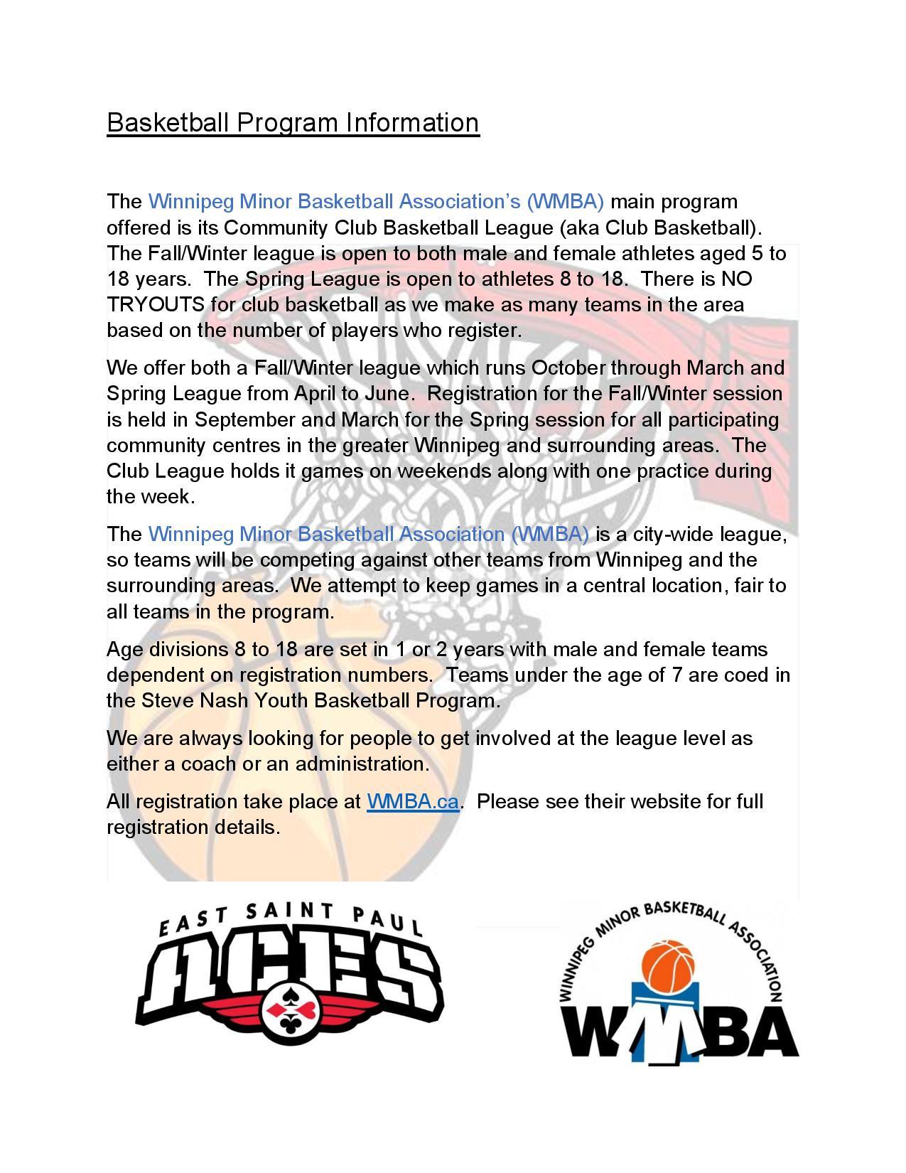Basketball Information