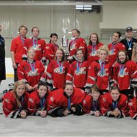 Bantam Girls Provincial Champions