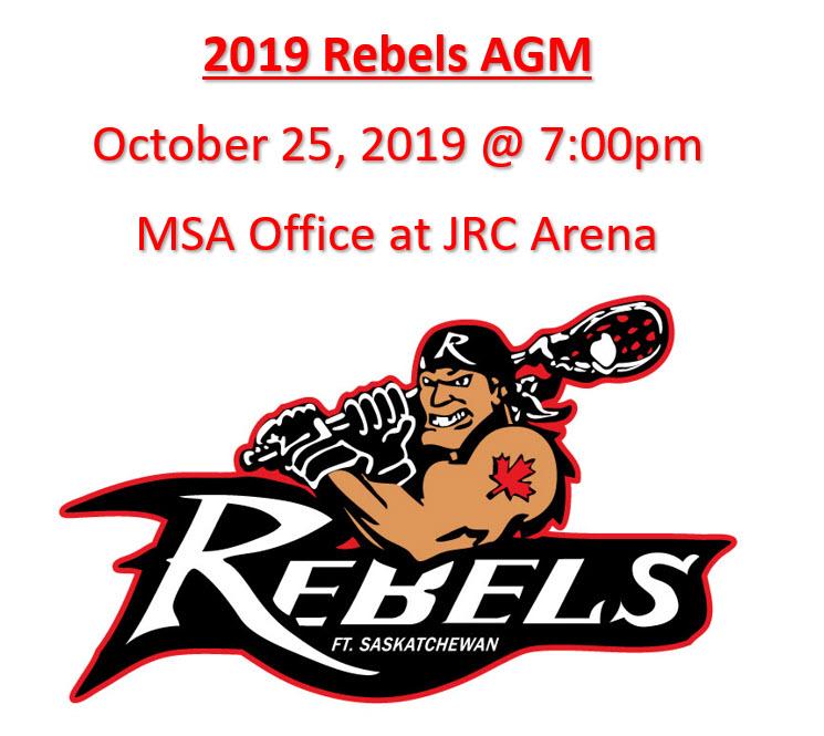 Rebels AGM