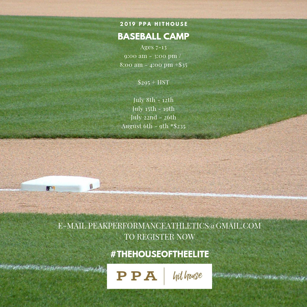 PPA Hithouse Baseball Camp