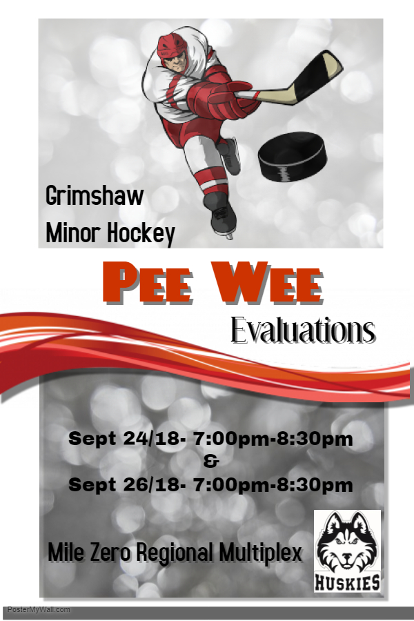 Pee Wee Evaluations