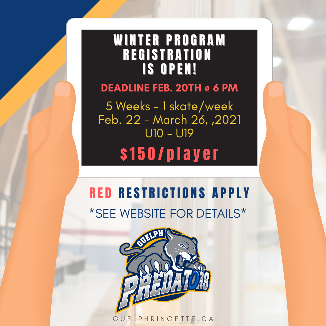 Winter Program Registration is OPEN!