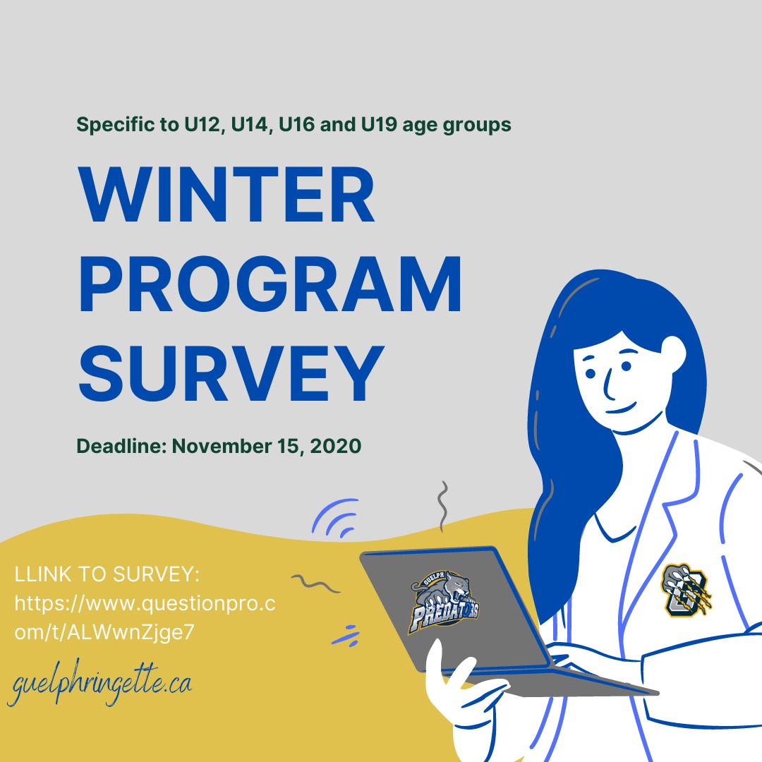 Winter Program Survey