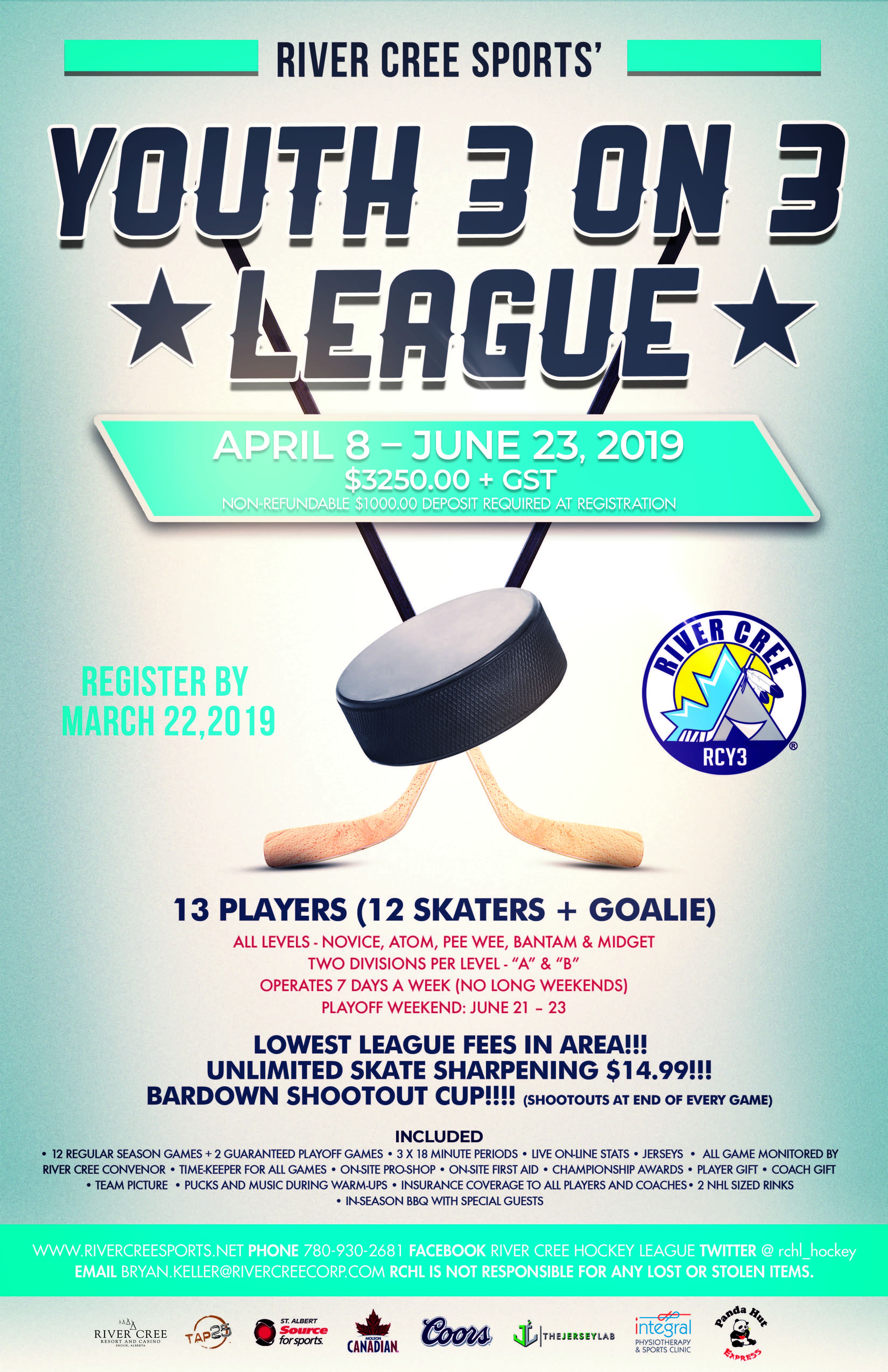 River Cree 3 on 3 League