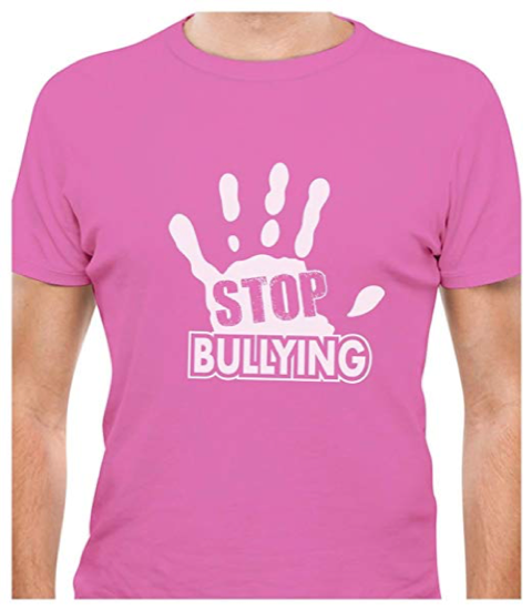 Stop Bullying Pink T-shirt