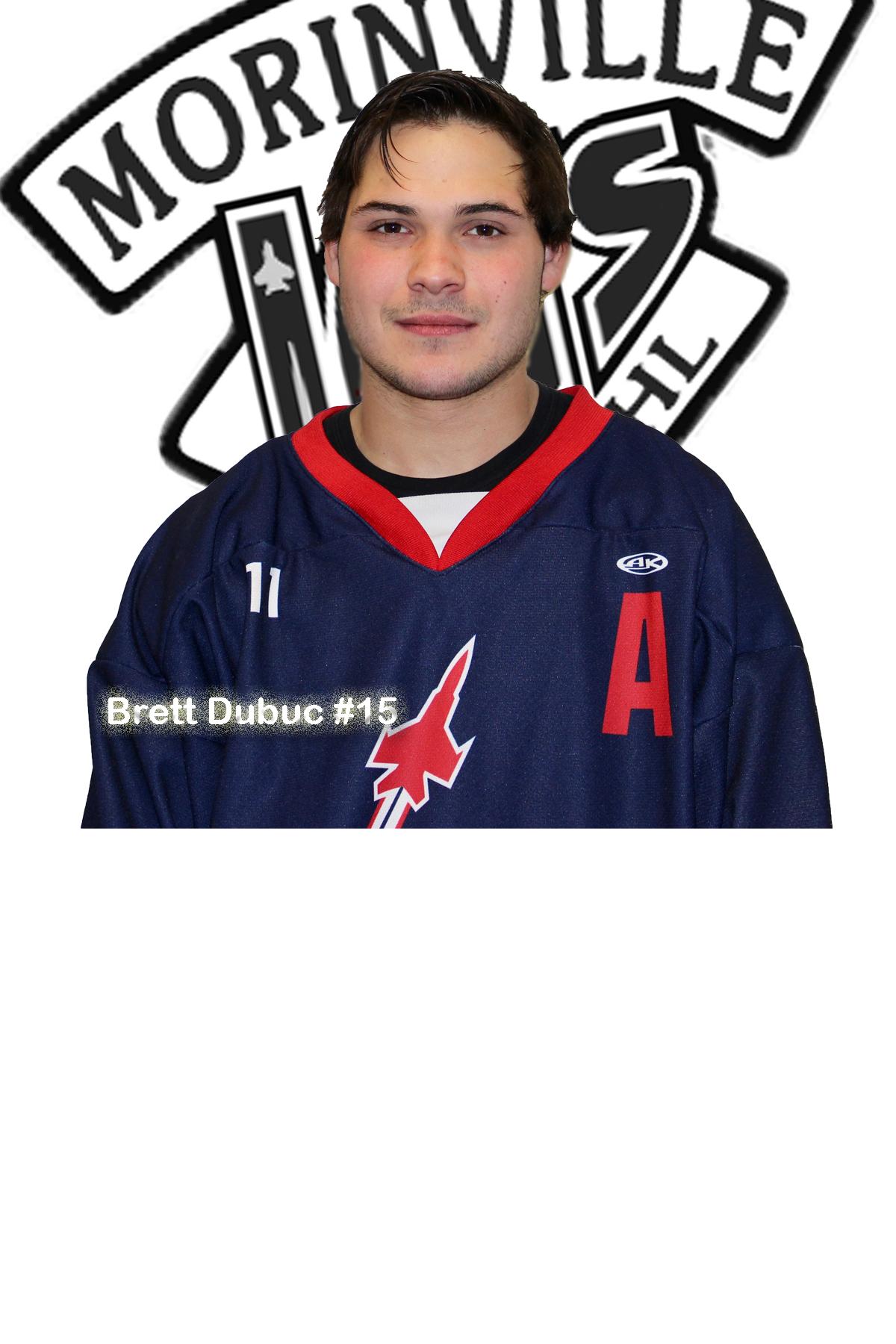 #15 Brett Dubuc