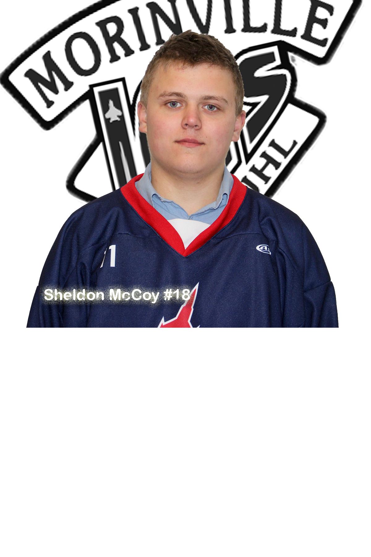 #18 Sheldon McCoy