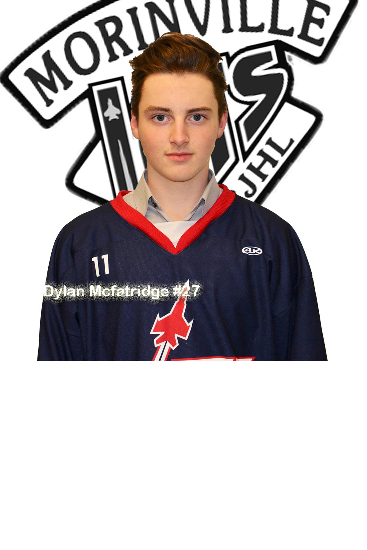 #27 Dylan McFatridge