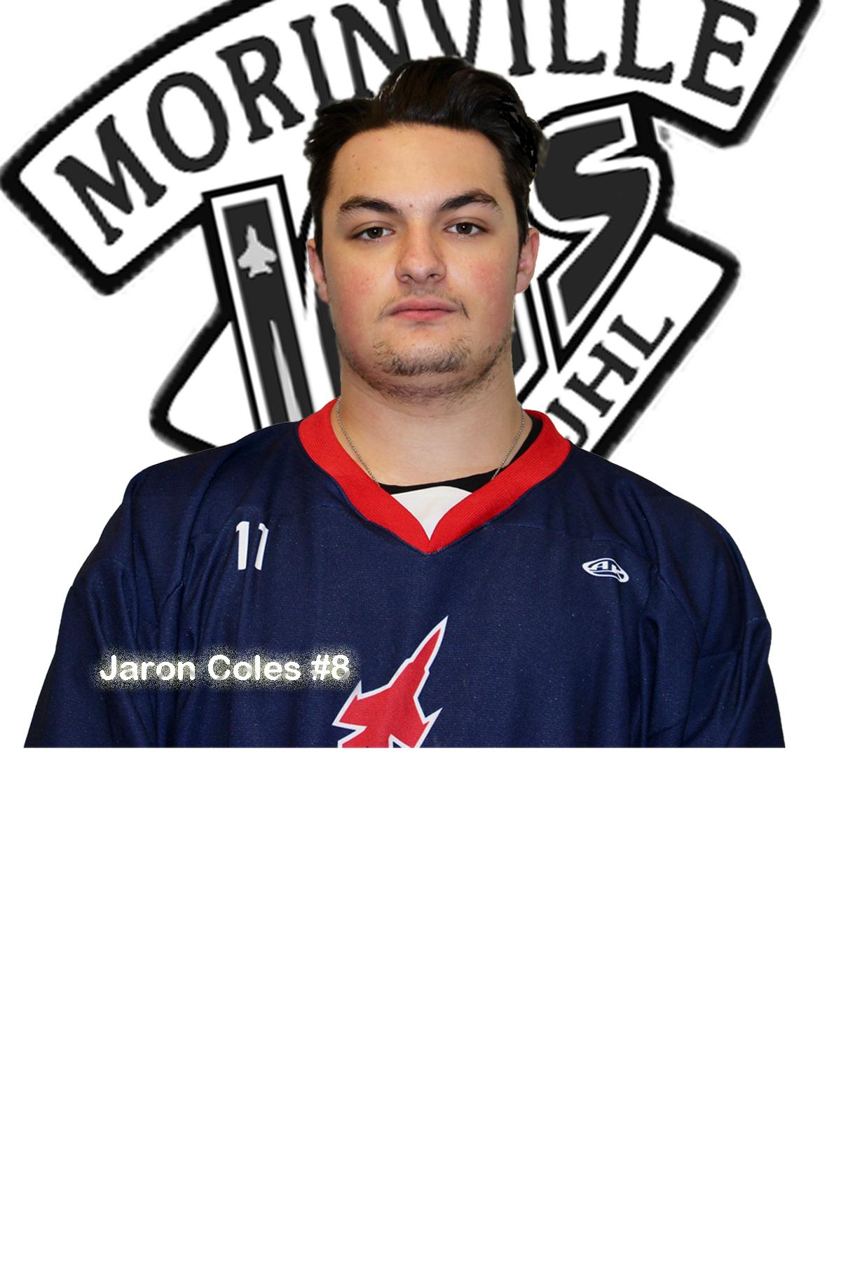 #8 Jaron Coles