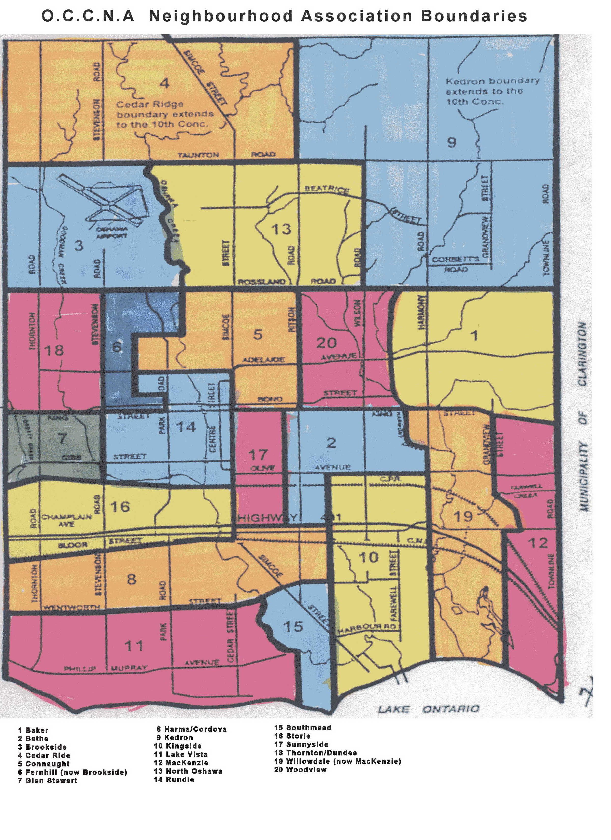 Neighbourhood Boundaries