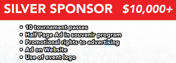 Silver Sponsorship Benefits !!!