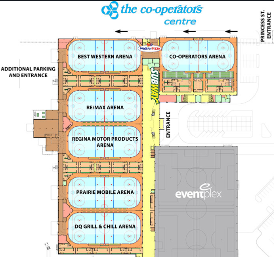 Cooperators Centre Floor Plan