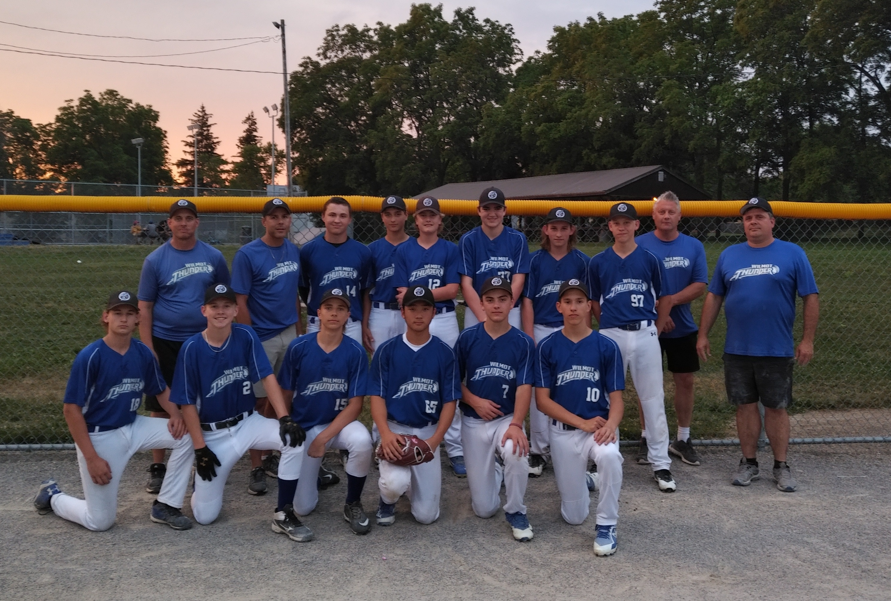 Wilmot Thunder U16 - 6th at Elims