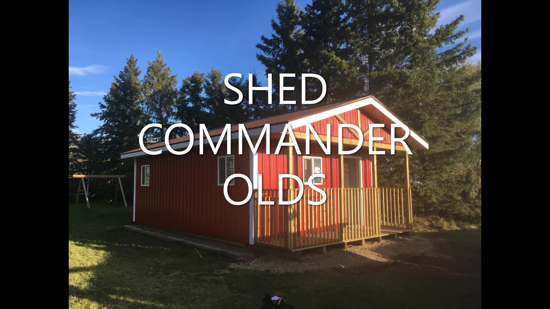 Shed Commander Ltd Olds