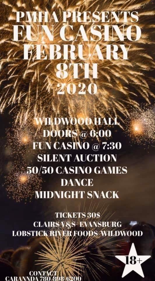 PMHA Fun Casino 2020