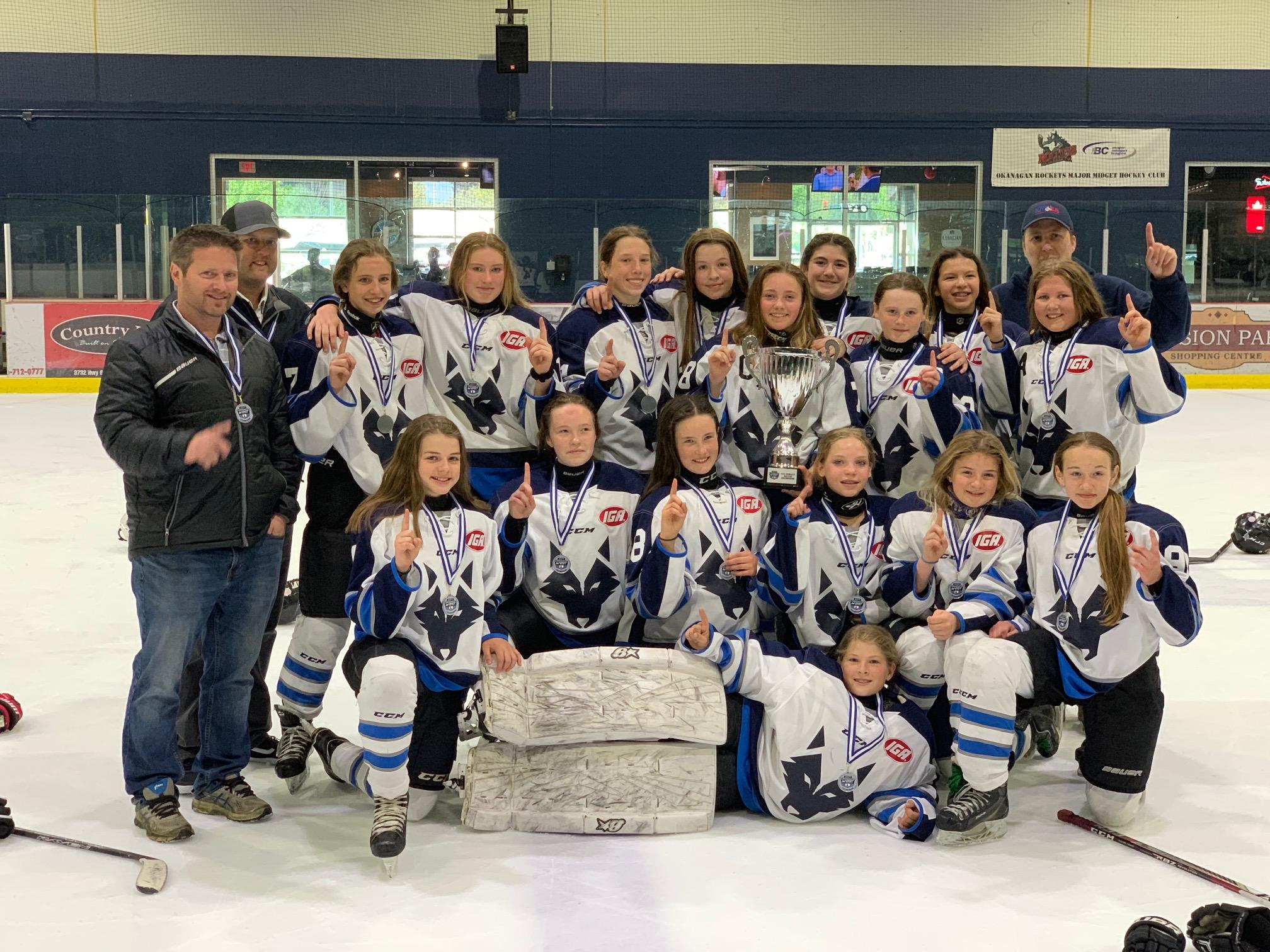 U12 IGA Okanagan Wolves Western Canada Gold