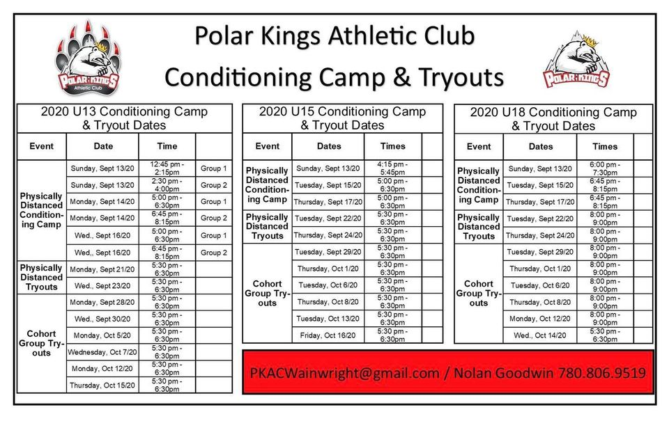 2020-2021 C.C and Try-Outs