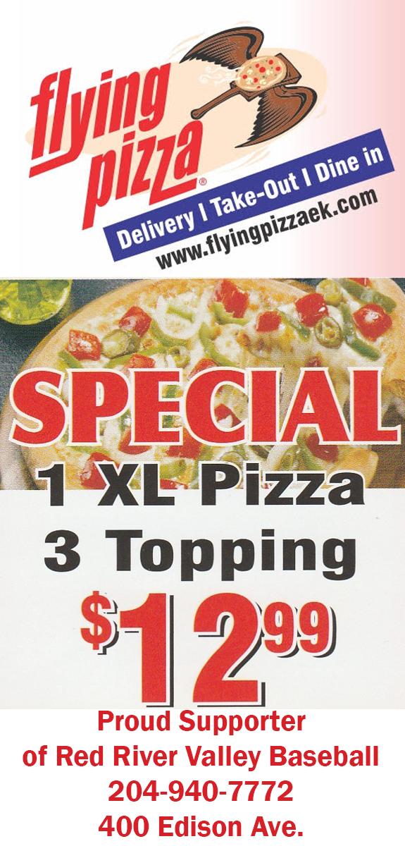 Flying Pizza EK