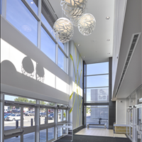 St Albert Centre Entrance Interior