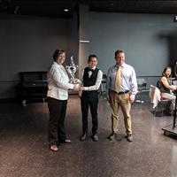 Samuel Kiang was awarded the T. K. Memorial Award