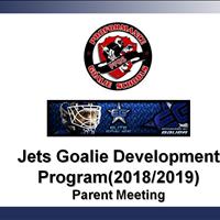 Jets Goalie Development Program