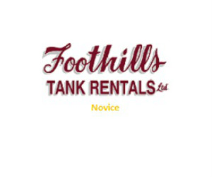Foothills Tank Rentals Novice