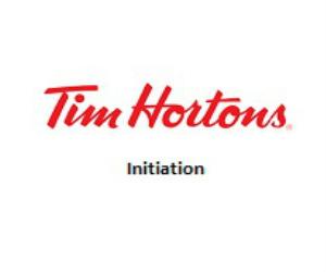 Tim Hortons Initiation