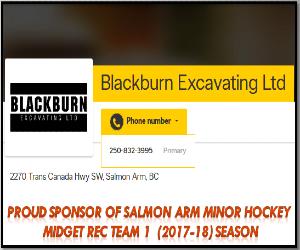 BlackBurn excavating 2017 - 2018