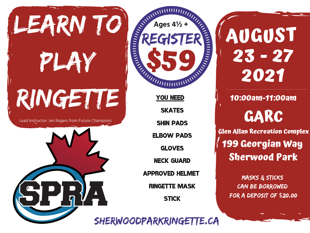 Learn to Play August 23-27, 2021
