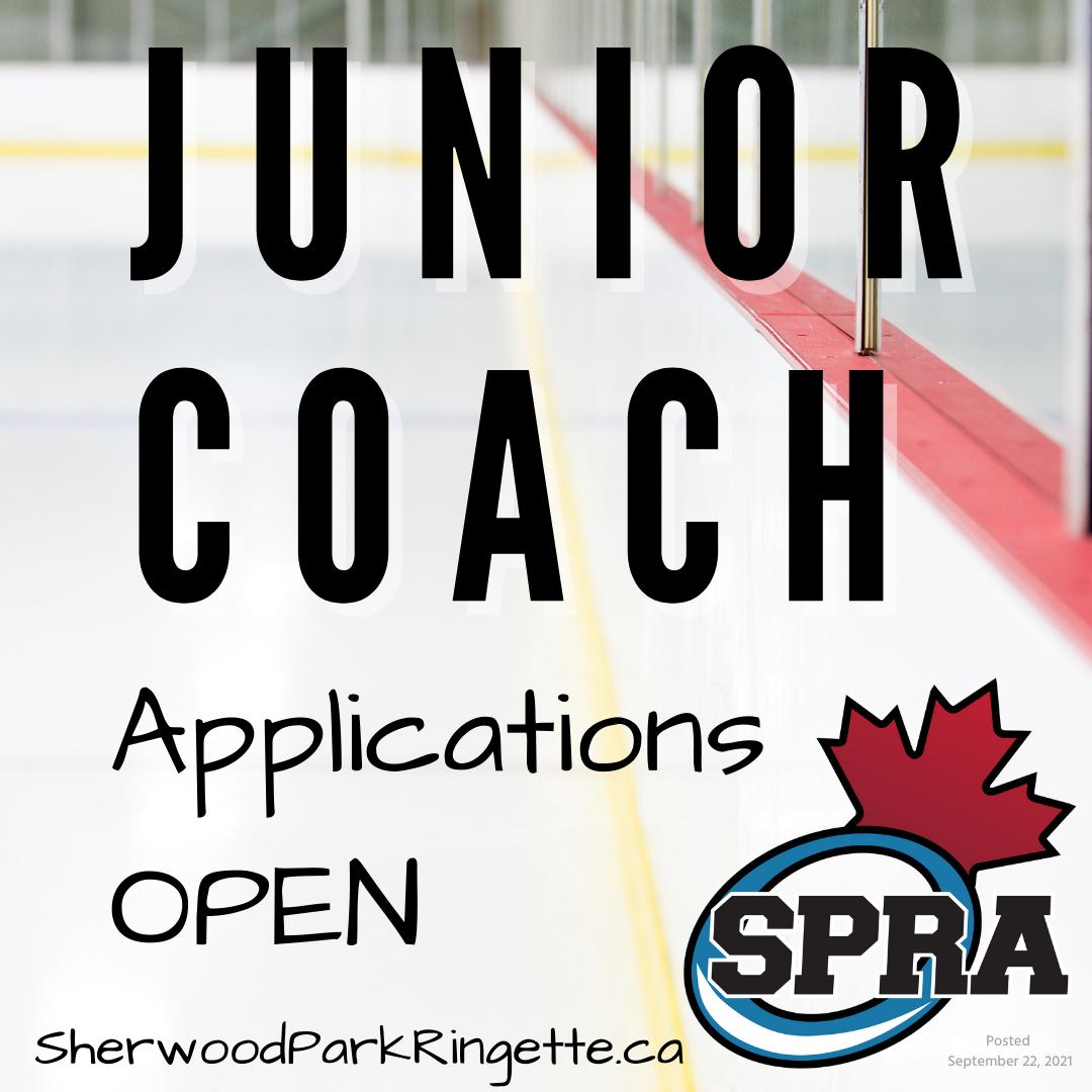 Junior coaching application open