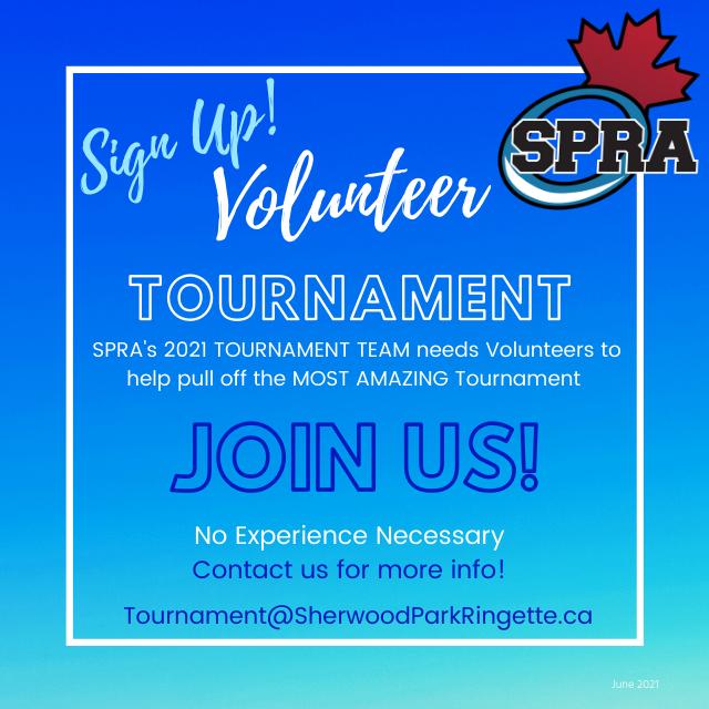 SPRA Tournament Volunteers
